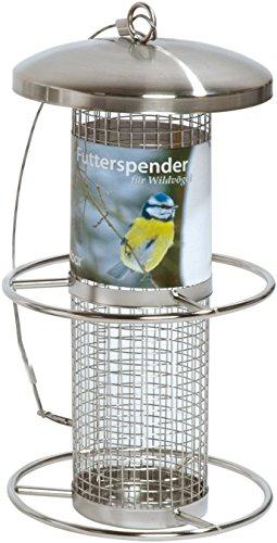 dobar 10041 - Comedero para pájaros con Anillos de fijación, comedero para Aves Silvestres, 14 x...