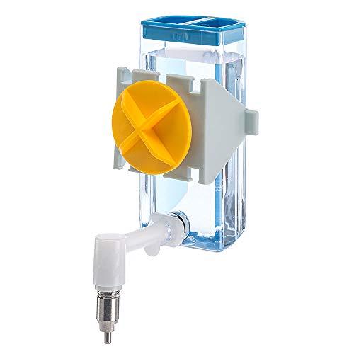 Feplast Bebedero para hámsteres, ratoncillos y jerbos Sippy 4672 Small, Capacidad 100 CC, Sistema...