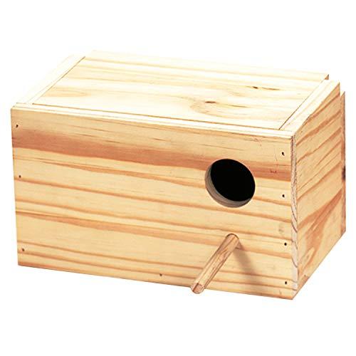 Arquivet Nido de Madera para pájaros - Casa para agapornis - Caja para pájaros - Nido para...