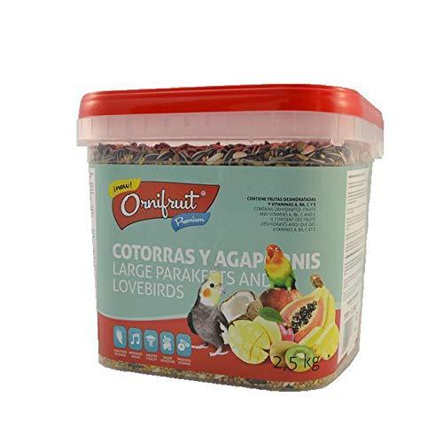 Placias Ornifruit Cotorras Agapornis