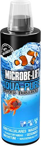 MICROBE-LIFT Aqua Pure - Medio Filtrante Líquido con Bacterias Vivas para Acuarios de Agua Dulce y...