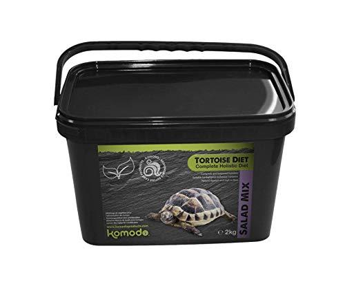 Komodo TORTOISE DIET, mezcla de ensalada. Alimento integral completo con calcio (mezcla de ensalada,...