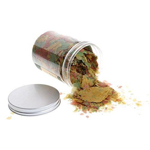 SimpleLife Escamas Tropicales, Comida Completa para Todos los Peces Tropicales, 110 g