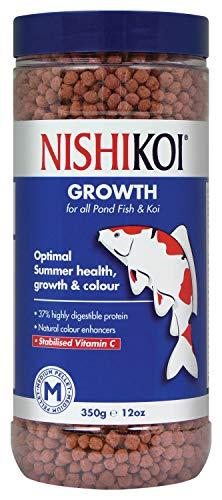 Nishikoi - Gránulos medios de crecimiento para peces (350g) (Puede Variar)