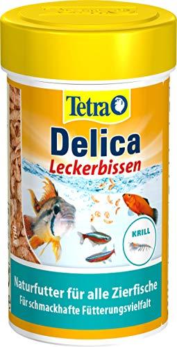 TetraDelica - Comida natural para peces (para peces ornamentales, kril, daphnias, pulgas de agua,...