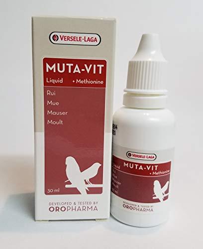 Versele-Laga Muta-Vit 30 ml, Mezcla especial de vitaminas, aminoácidos y oligoelementos. Para...