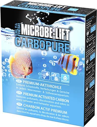 MICROBE-LIFT Carbopure - Carbón Activo de Larga duración, Activado y Lavado con ácido, para...