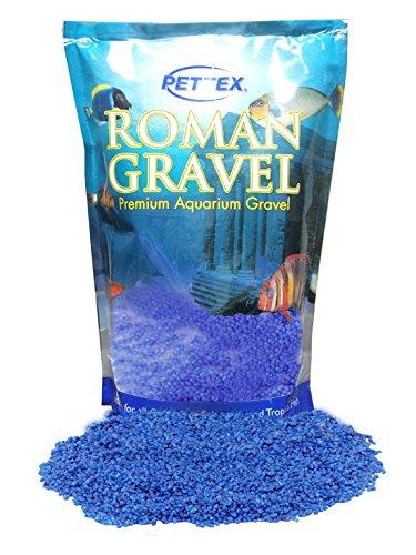 Pettex Roman Grava de Acuario, Azul (Sonic Blue), 2 kg