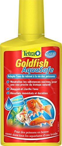Tetra Goldfish AquaSafe–Acondicionador de agua para peces rojos–250ml