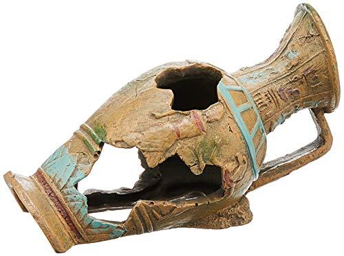 Rosewood Urna egipcia decoración para Acuario