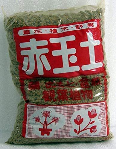 Akadama Ibaraki - Tierra para bonsái (grano FINO/MEDIO 2-5 mm (2 litros)