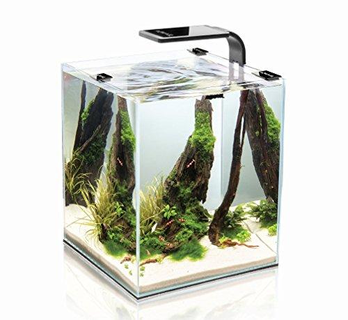 Nanoacuario en forma de cubo para gambas Shrimp Set Smart 2 de Aquael (de 10, 19 y 30 litros)