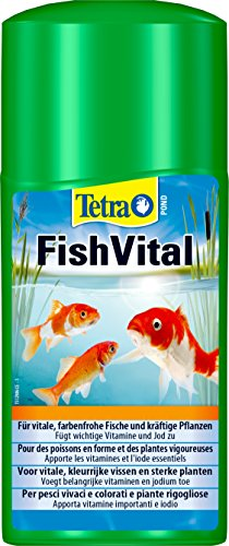 Tetra Pond FishVital 250 ml - Peces vivaces y coloridos y plantas vigorosas