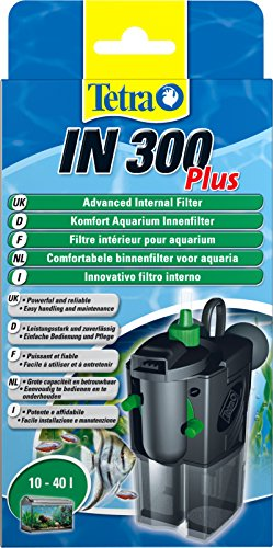 Tetra IN 300 plus Filtro interior - Filtros interiores potentes y confortables para la filtración...