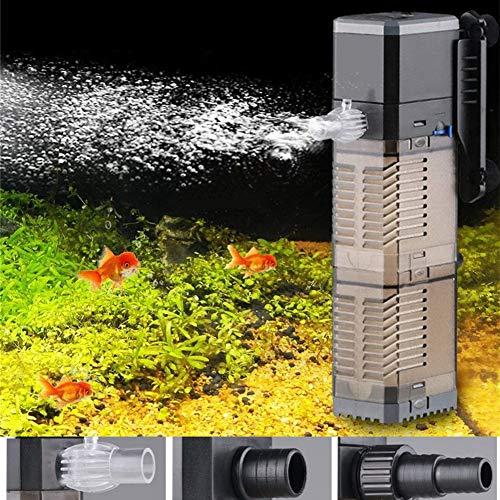 LONDAFISH 3-en-1 Tanque de Peces Bomba de Agua Bomba Sumergible Bomba de Agua para Tanque De Peces 8...