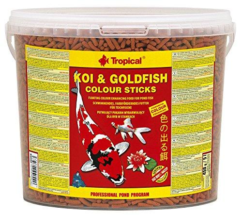 TROPICAL COMIDA DE PECES KOI & GOLDFISH COMIENTO PARA POND FISH, BODÓN 5L/450g