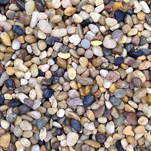 Piedras de Acuario de Color Natural, Grava, 0,5-1 cm, 5 kg